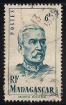 Stamps Africa - Madagascar -  General Jacques C. R. A. Duchesne.