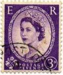 Stamps United Kingdom -  ISABEL