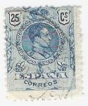 Sellos de Europa - España -  Alfonso XIII, Tipo Medallón. - Edifil 274