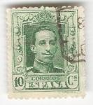 Sellos de Europa - España -  Alfonso XIII, Tipo Vaquer. - Edifil 314