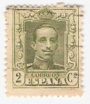 Stamps Europe - Spain -  Alfonso XIII, Tipo Vaquer. - Edifil 310