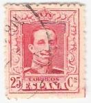 Sellos de Europa - España -  Alfonso XIII, Tipo Vaquer. - Edifil 317 A
