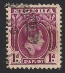 Stamps Africa - Nigeria -  Rey Jorge VI (1895-1952)