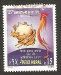 Sellos del Mundo : Asia : Nepal : 125 anivº de la unión postal