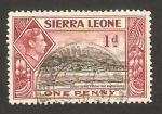 Stamps Africa - Sierra Leone -  George VI, Puerto Freetown