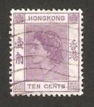 Stamps Hong Kong -  elizabeth II