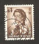 Stamps : America : Hong_Kong :  elizabeth II
