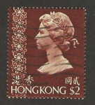 Stamps : Asia : Hong_Kong :  reina elizabeth II