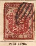 Sellos de Europa - España -  Escudo Ed 1854