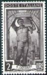 Sellos de Europa - Italia -  Italia 1950 Scott 551 Sello Nuevo ** Trabajos Il Cantiere El Cantero Lombardia