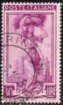 Sellos de Europa - Italia -  Italia 1950 Scott 559 Sello Trabajos La Vendemmia La Vendimia Puglia Usado