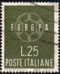 Stamps Italy -  Italia 1959 Scott 791 Sello Serie Europa usado