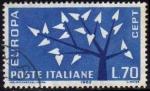 Stamps Italy -  Italia 1962 Scott 861 Sello Serie Europa usado