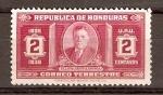 Stamps Honduras -  TIBURCIO  CARÍAS