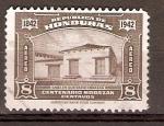 Stamps Honduras -  CASA  DONDE  NACIÓ  MORAZÁN