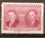 Sellos de America - Honduras -  JUAN  MANUEL   GALVEZ  Y  JULIO  LOZANO  DÍAZ