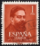 Stamps Spain -  Personajes
