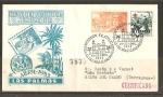Sellos de Europa - España -  Exposicion Filatelica y Numismatica.- (Las Palmas)