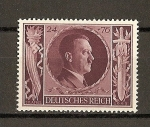 Stamps Europe - Germany -  III Reich / 54 Aniversario de Hitler