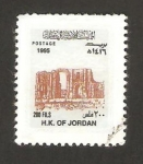 Stamps Asia - Jordan -  arco del triunfo de djerach