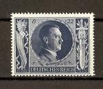 Stamps Germany -  III Reich / 54 Aniversario de Hitler