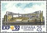 Stamps Spain -  exposicion universal de sevilla 1992