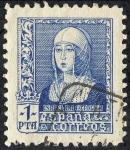 Stamps Spain -  Isabel la Catolica