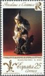 Sellos de Europa - España -  PATRIMONIO ARTISTICO NACIONAL.PORCELANA Y CERAMICA