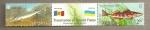 Sellos de Europa - Ucrania -  Protección de la fauna del río Dnieper