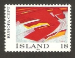 Stamps Europe - Iceland -  europa cept