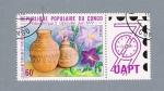Stamps : Africa : Republic_of_the_Congo :  Vasijas de barro