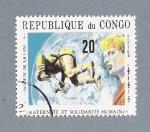 Stamps : Africa : Republic_of_the_Congo :  Katernite et solidarite Humaines