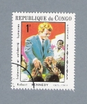Stamps : Africa : Republic_of_the_Congo :  Robert Kennedy