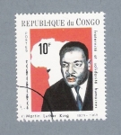 Stamps : Africa : Republic_of_the_Congo :  Martin Luther King