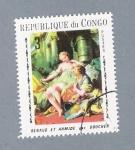 Stamps : Africa : Republic_of_the_Congo :  Renad et Armide
