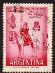 Sellos de America - Argentina -  150º Reg. Granaderos a Caballo