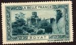 Stamps France -  La Belle France  (Viñeta)  Royat