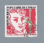Stamps : Africa : Republic_of_the_Congo :  Andre Marie Ampere 1775-1836