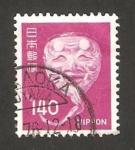 Sellos de Asia - Japón -  1192 - Máscara Nó