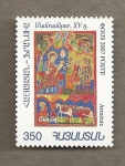 Stamps Asia - Armenia -  Tabla siglo XV