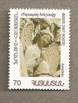 Stamps Asia - Armenia -  Escultura representando angel