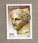 Stamps Asia - Armenia -  Cabeza femenina