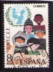 Stamps Europe - Spain -  Unicef 2054