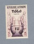 Stamps Africa - Togo -  Republique Autonome du Togo