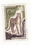 Stamps Africa - Mauritania -  Guepard