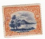 Sellos de America - Guatemala -  Lag de Amatitlan