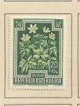 Sellos del Mundo : Europa : Austria : Flora