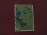Sellos de Europa - España -  mujeres famosas españolas. JOSEP.C