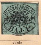 Stamps Europe - Vatican City -  Estado Independiente Edicion 1852