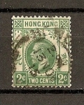 Stamps Hong Kong -  Eduardo VII
